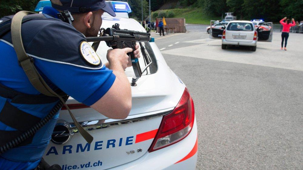 A l'Académie de police de Savatan, un élève aspirant de police coûte environ 10000francs de plus qu'au centre de formation de Fribourg, Neuchâtel et du Jura.