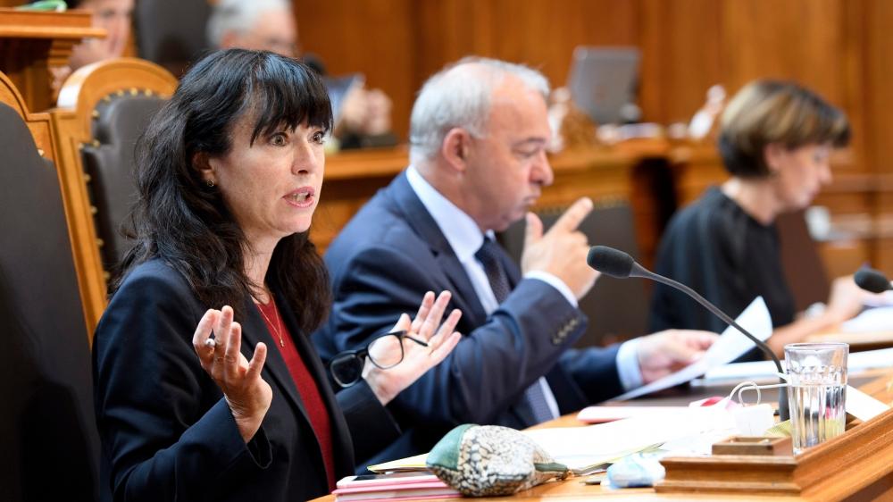 L'avenir du paysage médiatique suisse s'est invité au Conseil des Etats, hier, notamment par la voix de Géraldine Savary (PS/VD).