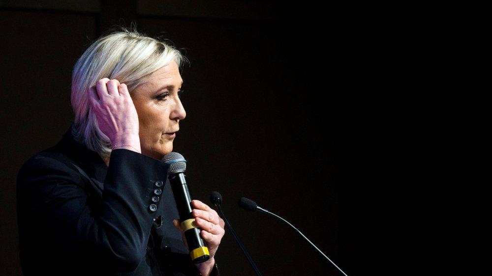 Marine Le Pen  a été mise en  examen il y a un an.