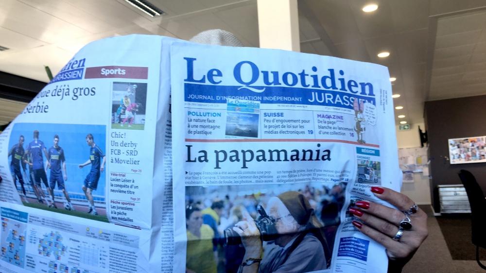 Les médias régionaux tels le «QJ» ou «ArcInfo» sont fragilisés.
