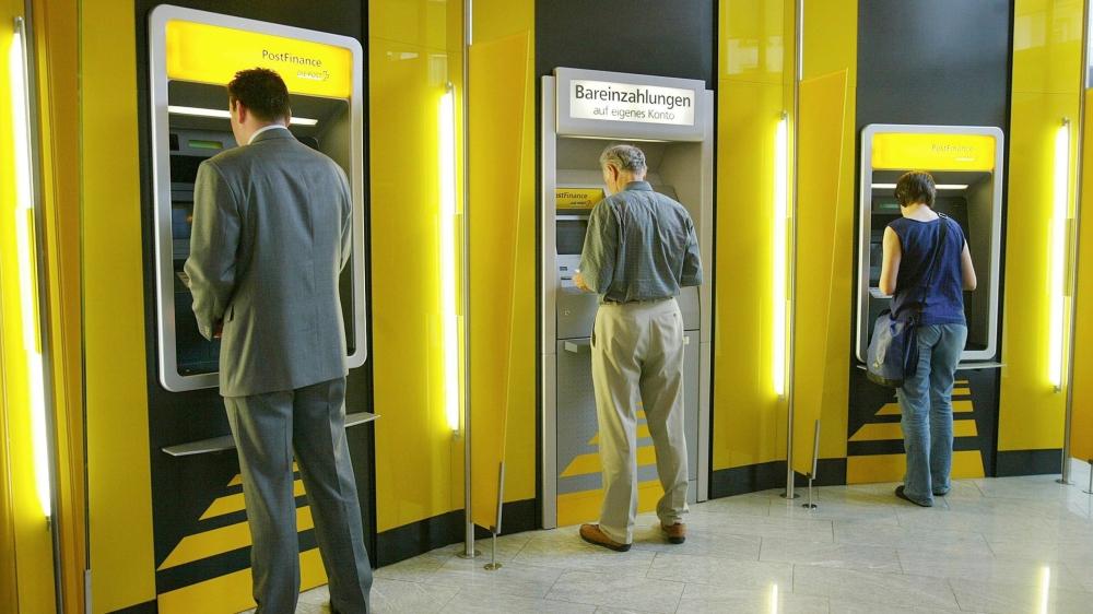 Malgré certains bugs, les distributeurs de PostFinance se transforment rarement en caverne d'Ali Baba.