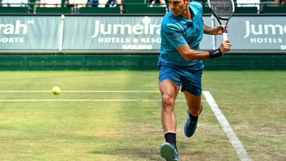 Le revers a été la grande arme  de Roger Federer face  à l'Australien au matricule 60  à l'ATP.