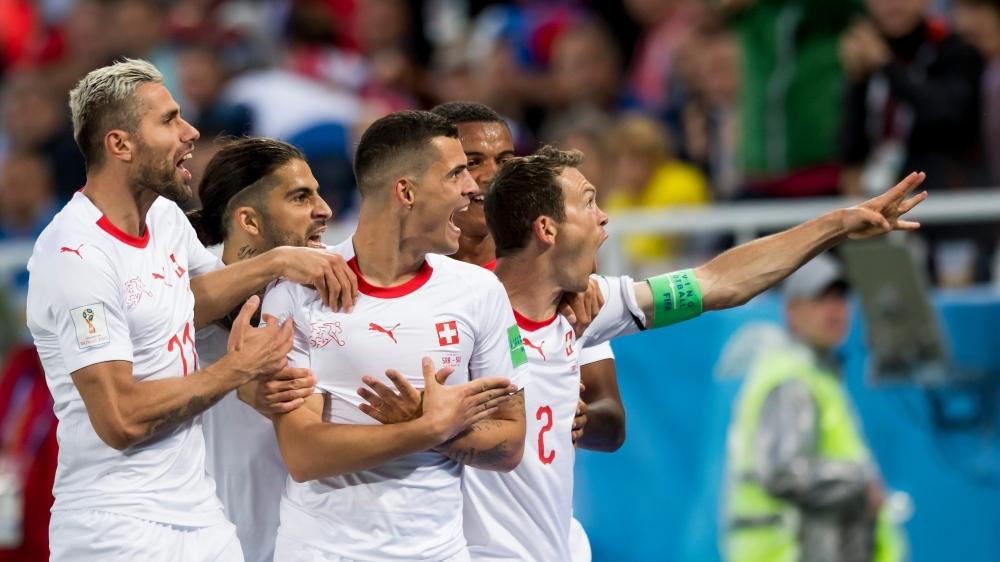 La célébration de Granit Xhaka ne semble pas avoir divisé les joueurs de l'équipe nationale.