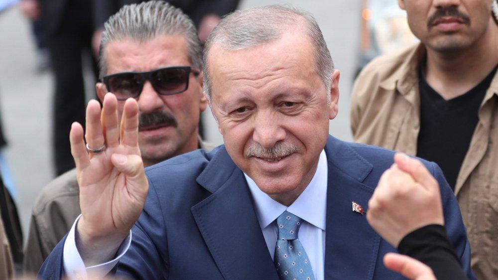 Recep Tayyip Erdogan semblait confiant hier.