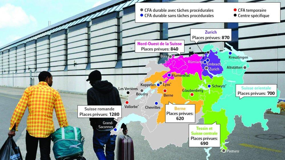 La carte de l'asile est bientôt complète