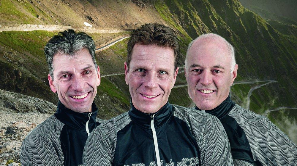 A l'image du Stelvio en Italie, Thierry Salomon, Christophe Otz et André Sunier franchiront plusieurs cols mythiques durant leur aventure à deux roues sur le continent européen.