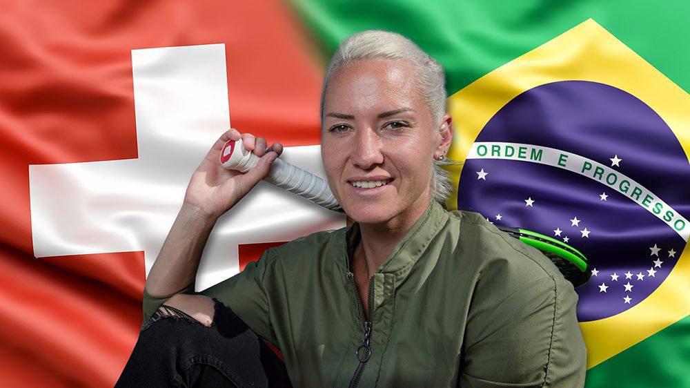 Conny Perrin ne choisit pas entre ses deux pays, la Suisse et le Brésil.