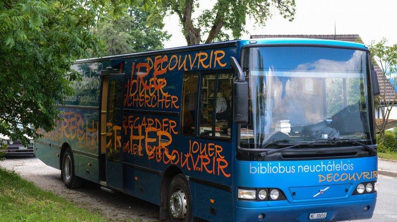 C'est la fin du Bibliobus à Val-de-Ruz