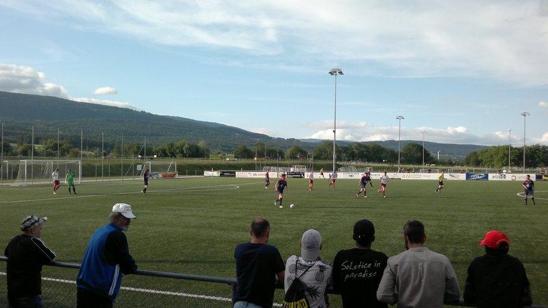 Le derby s'est décidé en trois minutes aux Buchilles.
