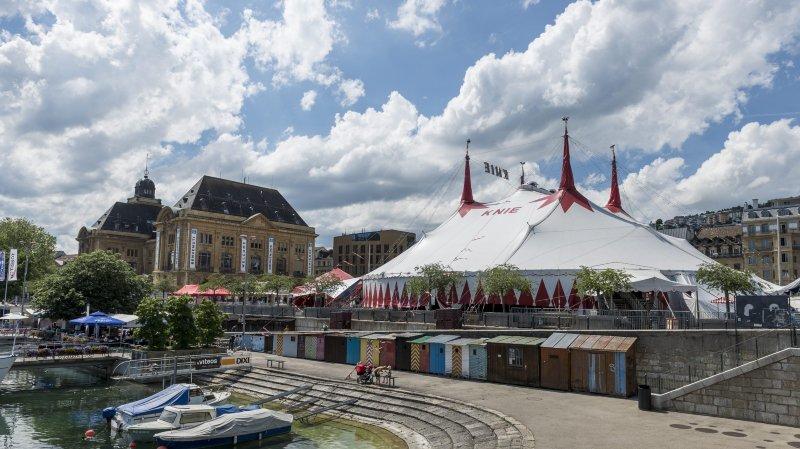 Le Knie annule ses représentations à Neuchâtel