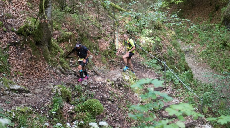 Une nouvelle formule à succès pour le Swiss Canyon Trail