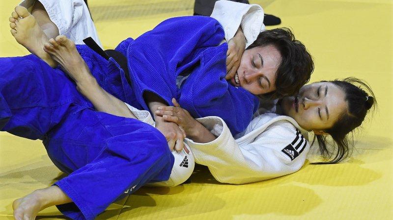 Evelyne Tschopp (en bleue) n'a pas su rééditer sa performance de Tel-Aviv en Mongolie intérieure.