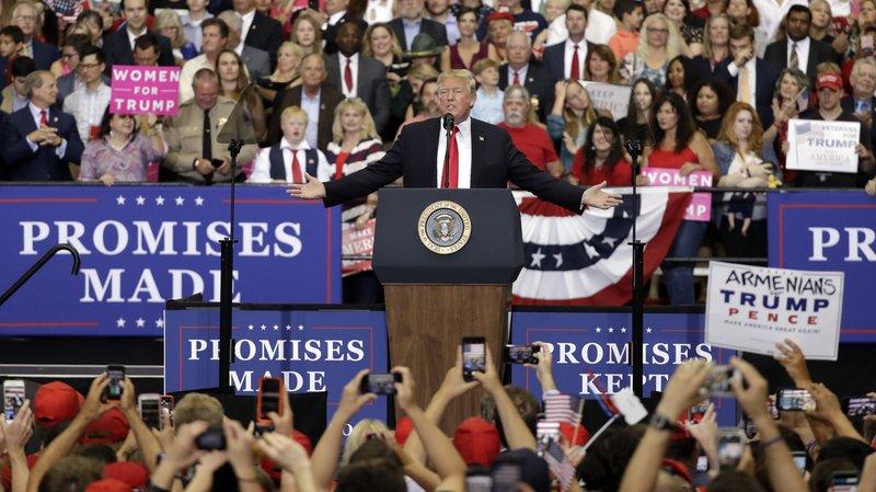 Donald Trump assure avoir