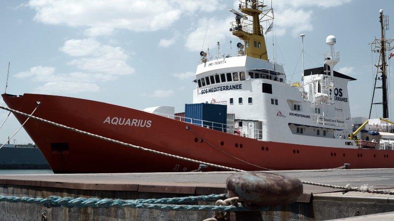 La Neuchâteloise Julie Melichar au secours des migrants, à bord de l'Aquarius