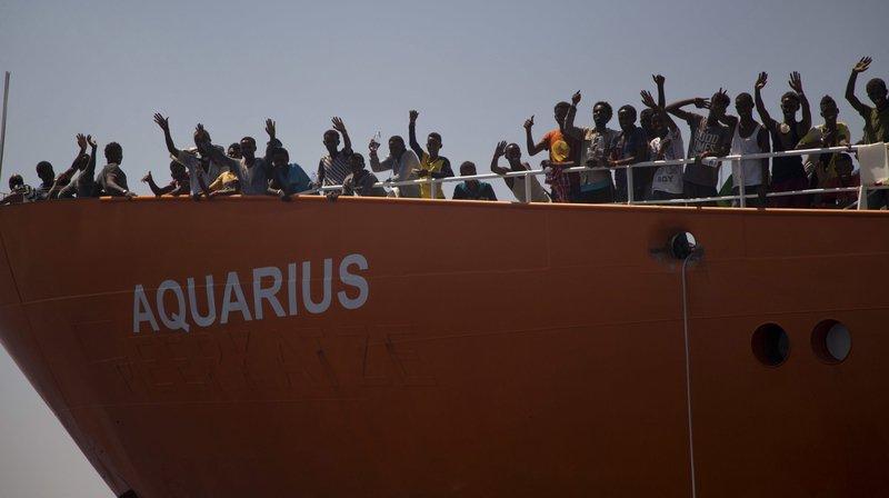 Avec plus de 600 migrants à bord, l'Aquarius se dirige aujourd'hui vers Valence.