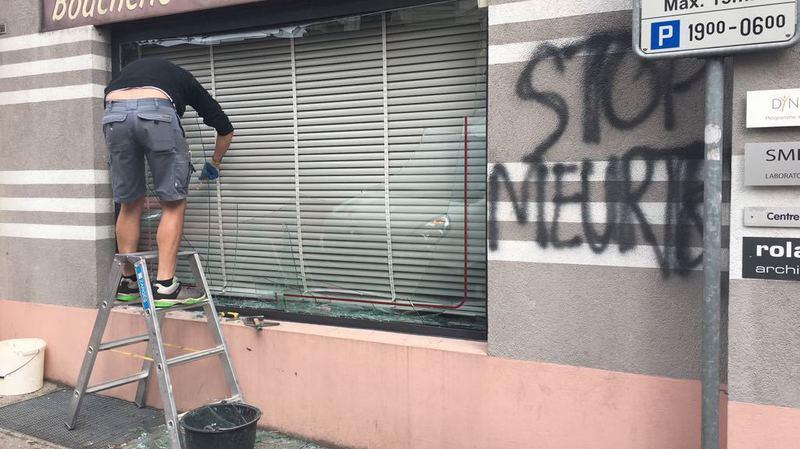 Vaud: deux boucheries et un McDonald's vandalisés par des antispécistes à Nyon
