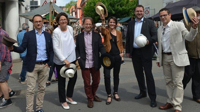 Photo officielle de l'exécutif chaux-de-fonnier