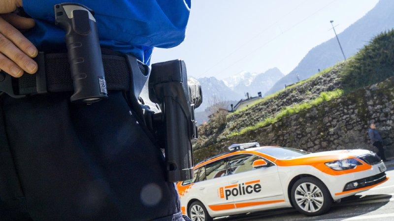 La police a déployé un dispositif comprenant plusieurs radars sur l'axe du Grand-St-Bernard et de la Forclaz notamment.
