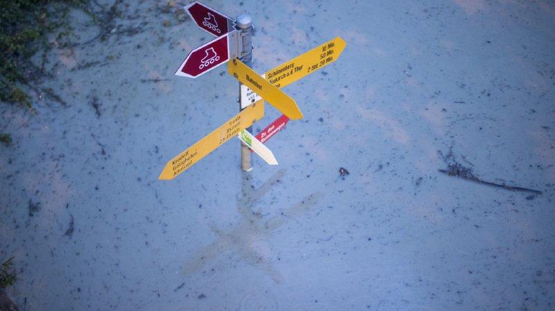 Météo: inondations, grêle... la Suisse alémanique frappée par de violents orages
