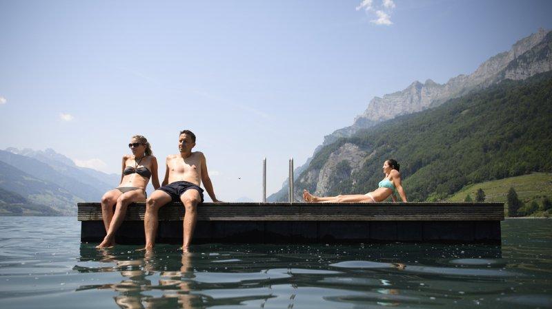 La Suisse sera touchée par de fortes chaleurs ce mercredi, une excuse pour prendre du bon temps! (illustration)