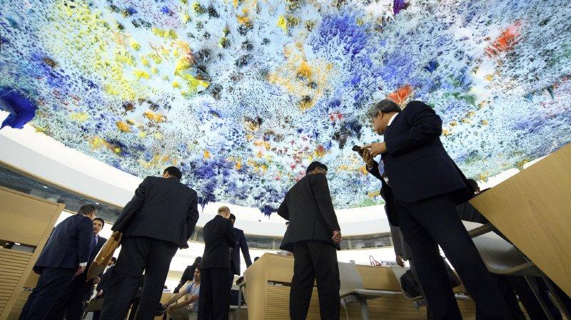 Les Etats-Unis quittent le Conseil des Droits de l'Homme de l'ONU.