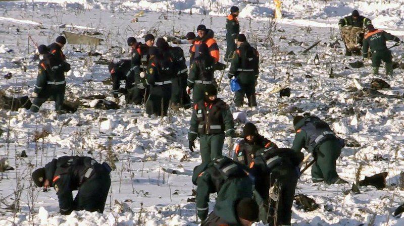 Russie: le crash d'un avion en février causé par les erreurs de l'équipage
