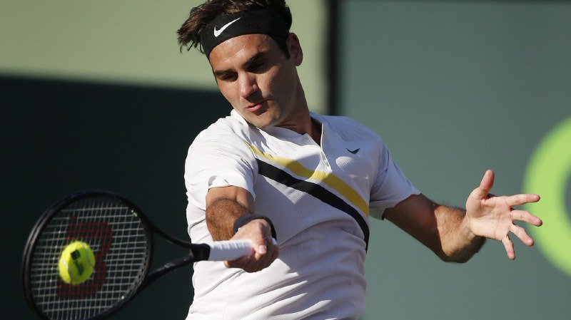 Tennis: avec 77,2millions de gains, Federer est le 7e sportif le mieux rémunéré en 2017