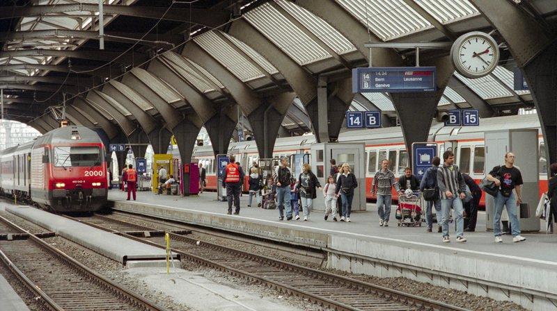 CFF: 2 millions de passagers dans les trains prévus cet été