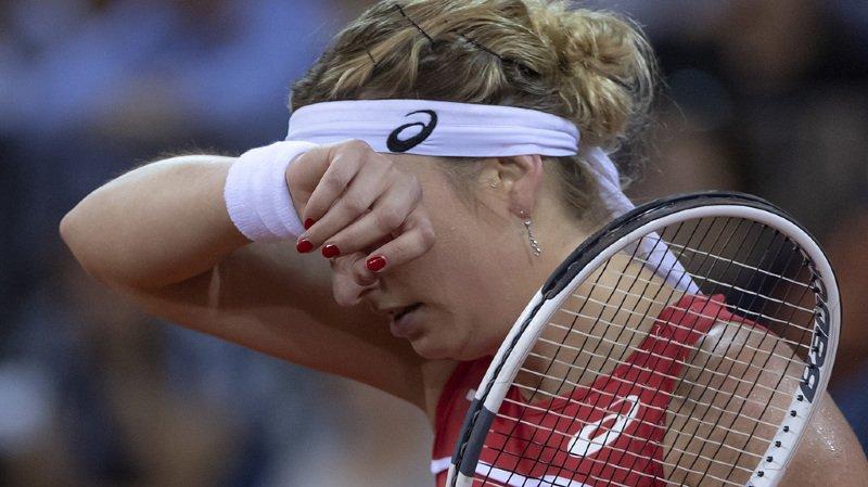 Tennis: Timea Bacsinszky quitte le tournoi ITF de Montpellier