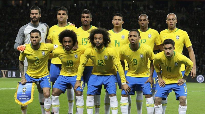 Mondial 2018: l'équipe brésilienne touchera une prime seulement s'il est atteint la finale