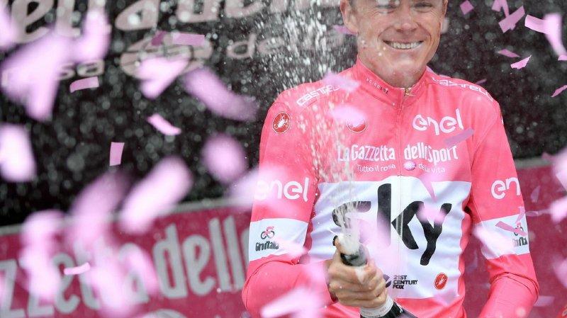 Les temps neutralisés avant le final, Froome vainqueur du tour — Giro