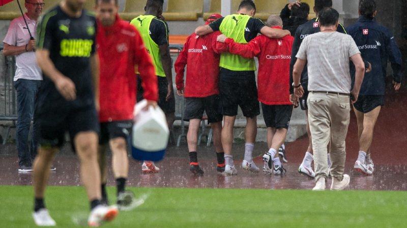 Football: Granit Xahka se blesse à l'entraînement