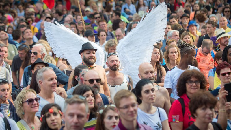 Lugano: Ignazio Cassis condamne toute discrimination liée à la préférence sexuelle à la Pride