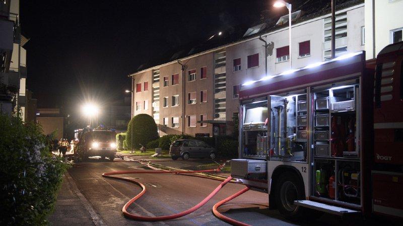 Berne: un important incendie entraîne le relogement de 50 personnes