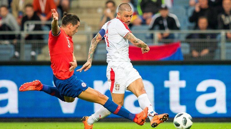 Football: la Serbie, adversaire de la Suisse à la Coupe du monde, s'incline face au Chili