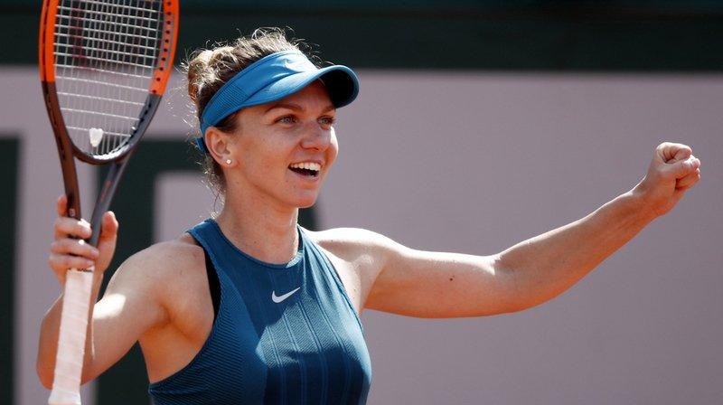 Tennis - Roland-Garros: Halep s'offre une 4e finale majeure pour Halep avoir battu Muguruza