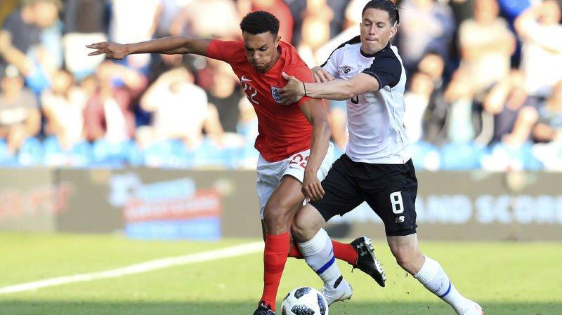 Football: le Costa Rica, futur adversaire de la Suisse, battu par l'Angleterre sans rien montrer