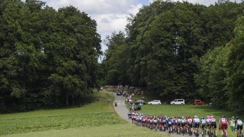 Cyclisme - Tour de Suisse: des perturbations sur les routes vaudoises et valaisannes sont à prévoir mercredi