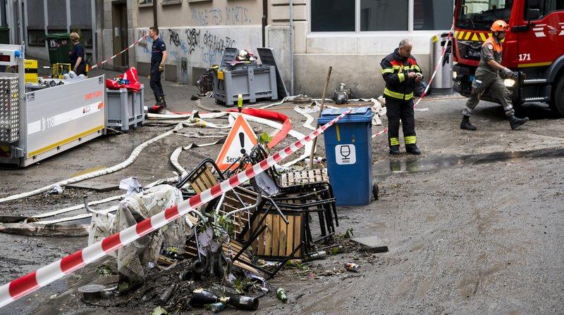 Intempéries: 2 millions de dégâts après les fortes pluies en Romandie, selon AXA