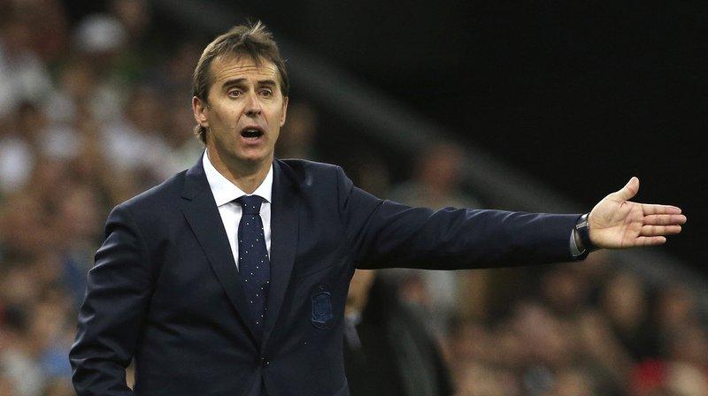 Football: le sélectionneur de l'Espagne Julen Lopetegui nouvel entraîneur du Real Madrid