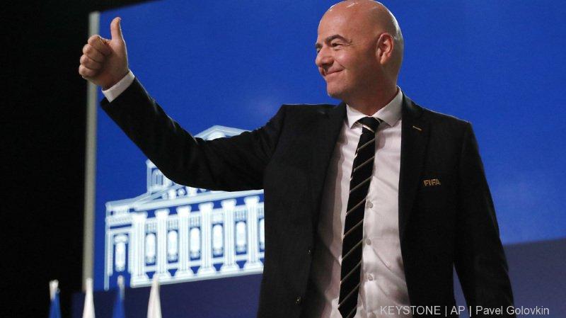 Gianni Infantino estime qu'il y a encore beaucoup de travail à faire à la tête de la FIFA.