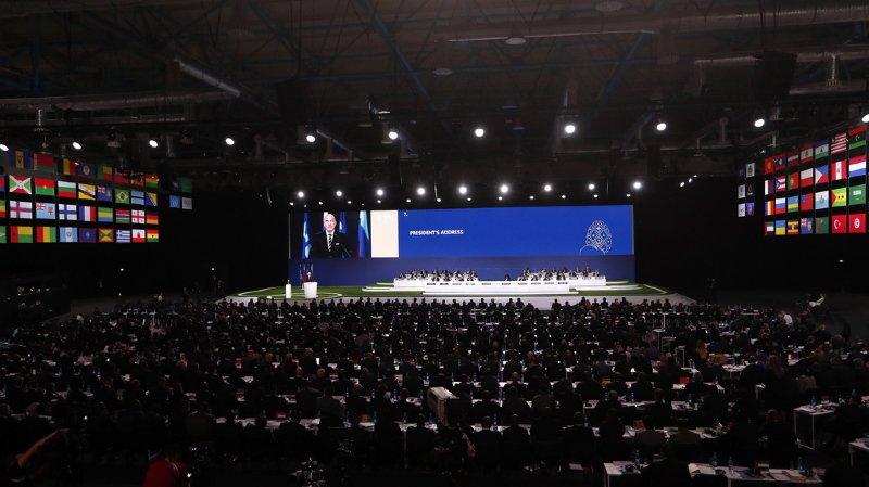 Football: les Etats-Unis, le Mexique et le Canada organiseront la Coupe du monde 2026