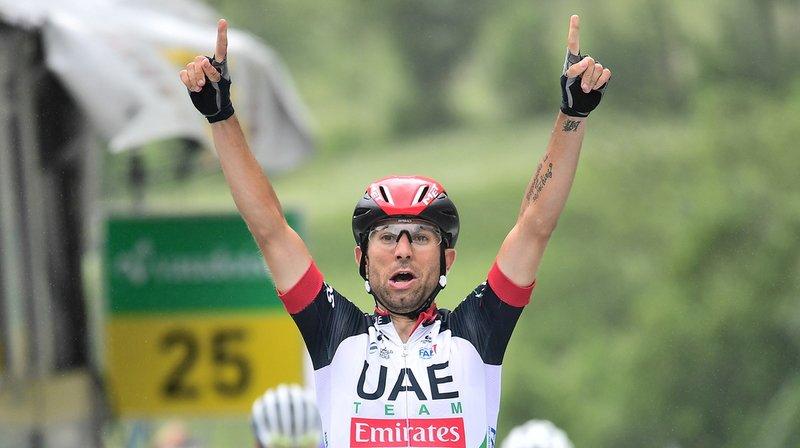 Cyclisme - Tour de Suisse: Ulissi vainqueur en puncheur à Loèche
