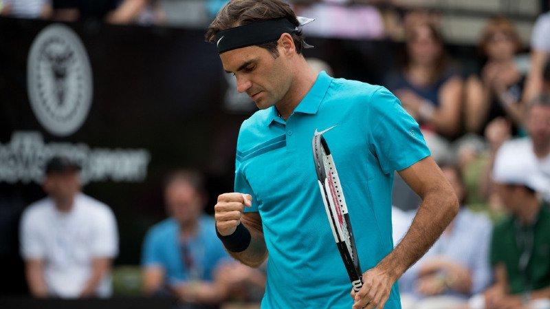 Tennis: Federer remporte le tournoi de Stuttgart en dominant Milos Raonic en deux sets