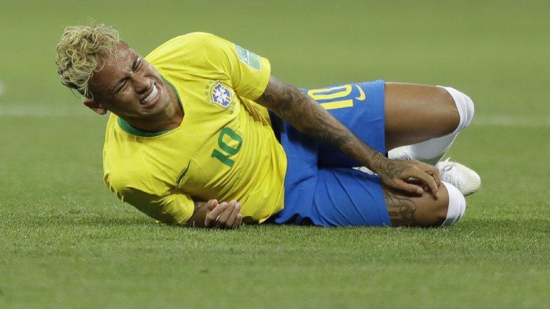 Coupe du monde 2018: un bar de Rio paie la tournée à chaque chute de Neymar