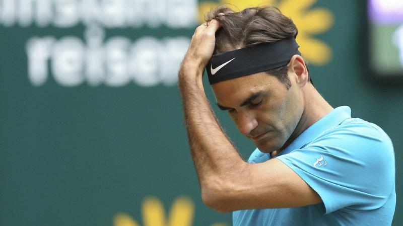 Roger Federer a été défait dans son jardin.