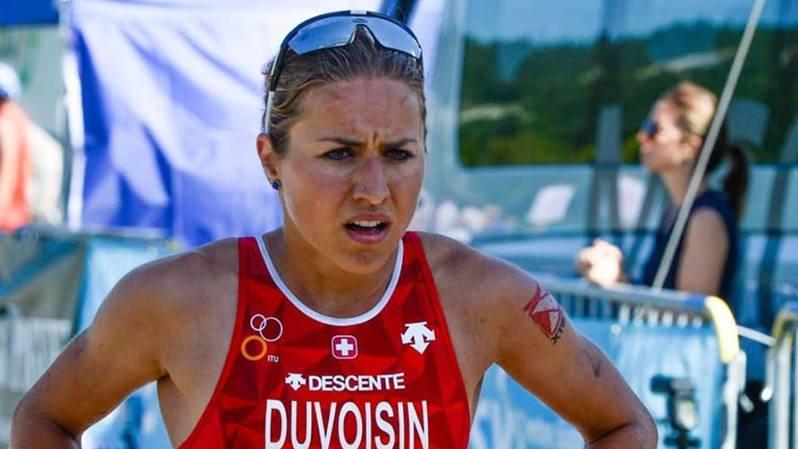 Loanne Duvoisin a ressenti de fortes douleurs au dos en VTT.