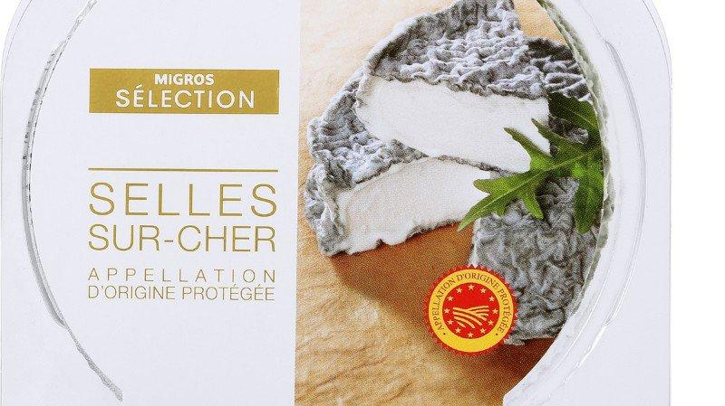Rappel de produit: salmonelles dans un fromage de chèvre vendu chez Migros