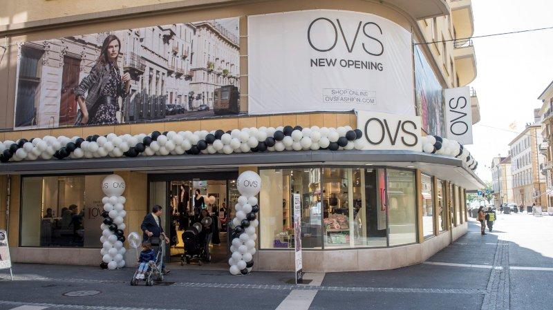 Vingt-huit employés touchés  par la fermeture d'OVS dans le canton de Neuchâtel