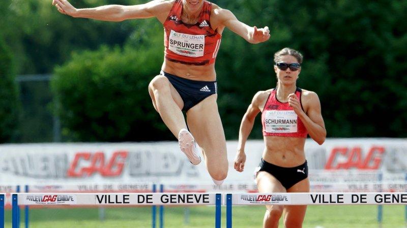 Lea Sprunger manque  le coche à Genève